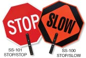 Stop / Slow Paddles